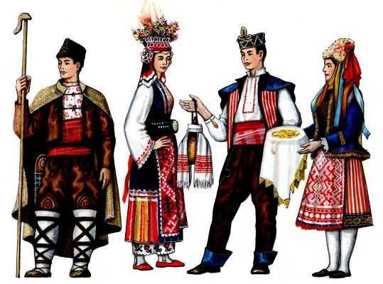 Одежда пастуха из фракии костюм