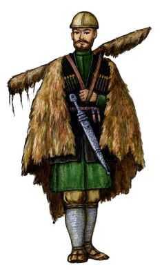 Традиционные костюмы грузин