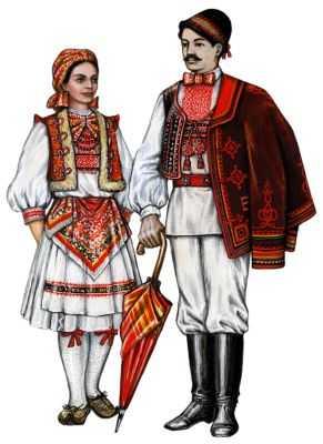 Традиционные костюмы хорват
