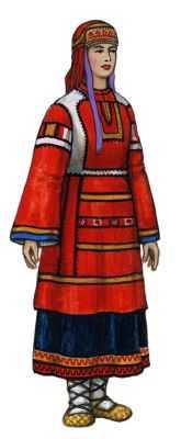 Традиционный костюм тульская