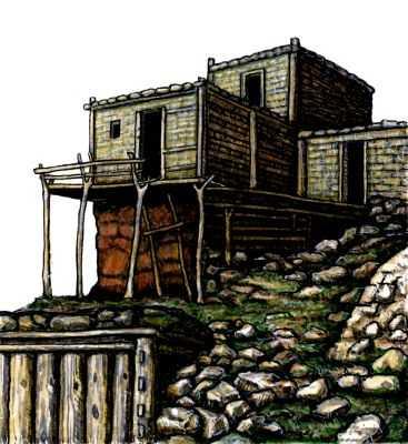 Традиционные жилища афганцев