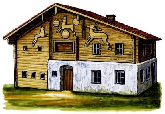 Традиционные жилища австрицев