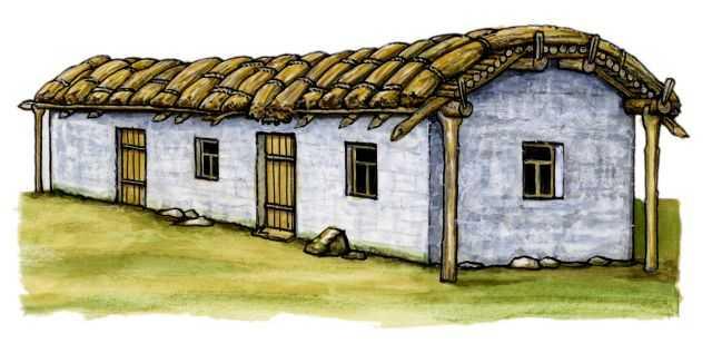 Традиционные жилища чеченцев