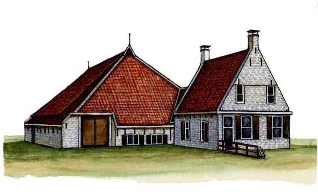 Традиционные жилища фриз
