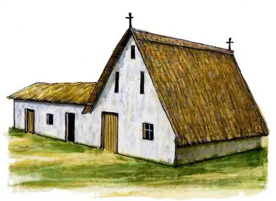 Традиционное жилище кастилия