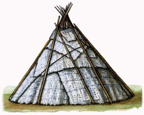 Традиционные жилища манси