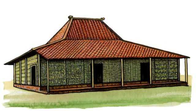 Традиционные жилища яванцев