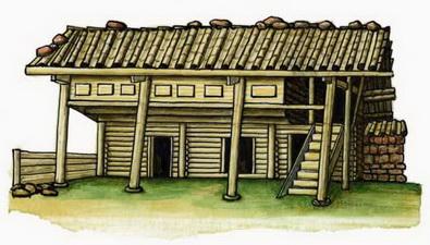 Наси традиционное жилище провинция